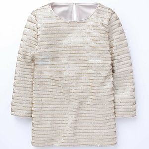 Boden Sequin Perfect Party Top